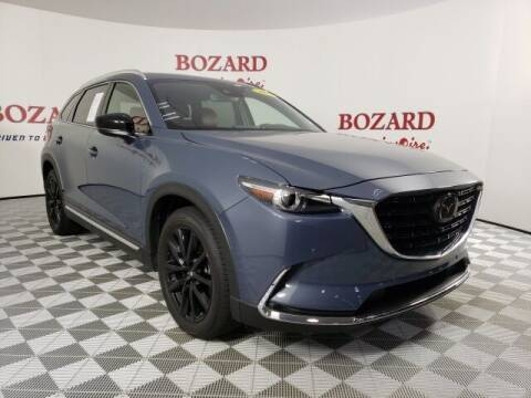 2021 Mazda CX-9 for sale at BOZARD FORD in Saint Augustine FL
