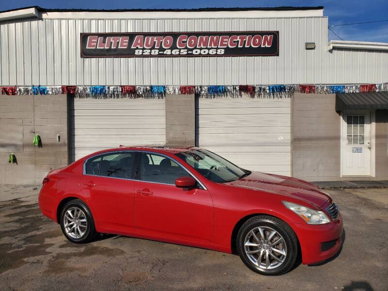 2009 Infiniti G37 Sedan for sale at Elite Auto Connection in Conover NC