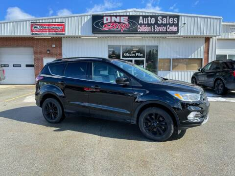 2018 Ford Escape for sale at One Stop Auto Sales, Collision & Service Center in Somerset PA
