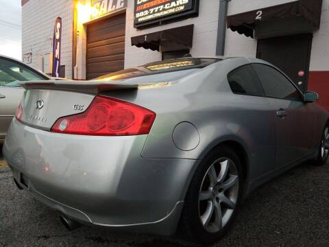 2004 Infiniti G35 for sale at Derby City Automotive in Louisville KY