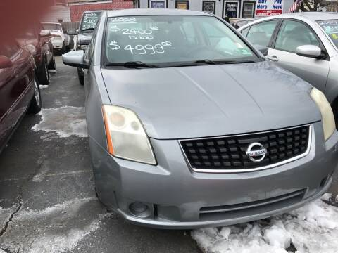 2008 Nissan Sentra for sale at Chambers Auto Sales LLC in Trenton NJ