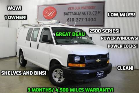 2016 Chevrolet Express Cargo for sale at Battaglia Auto Sales in Plymouth Meeting PA