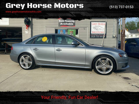 2009 Audi A4 for sale at Grey Horse Motors in Hamilton OH