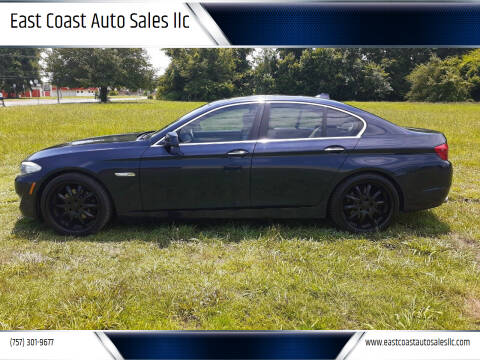 2011 BMW 5 Series for sale at East Coast Auto Sales llc in Virginia Beach VA
