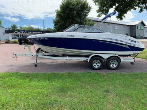 2006 Yamaha SX210 for sale at Alpha Motorsports in Sioux Falls SD