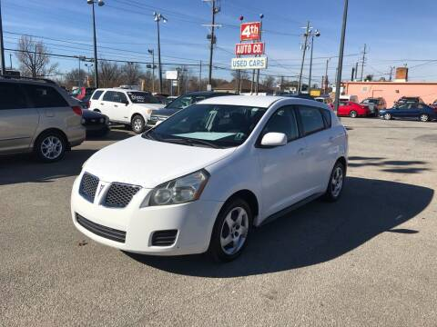 2010 Pontiac Vibe for sale at 4th Street Auto in Louisville KY