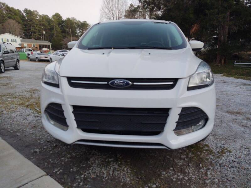 2016 Ford Escape for sale at Lanier Motor Company in Lexington NC