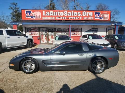 2003 Chevrolet Corvette for sale at LA Auto Sales in Monroe LA