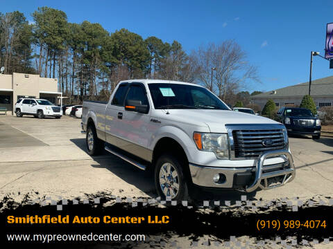 2012 Ford F-150 for sale at Smithfield Auto Center LLC in Smithfield NC