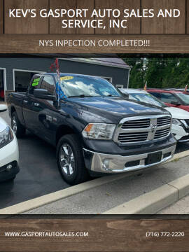 2016 RAM Ram Pickup 1500 for sale at KEV'S GASPORT AUTO SALES AND SERVICE, INC in Gasport NY