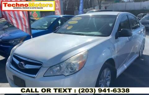 2011 Subaru Legacy for sale at Techno Motors in Danbury CT