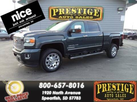 2019 GMC Sierra 2500HD for sale at PRESTIGE AUTO SALES in Spearfish SD