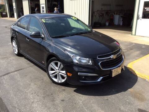 2015 Chevrolet Cruze for sale at TRI-STATE AUTO OUTLET CORP in Hokah MN