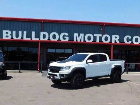 2020 Chevrolet Colorado for sale at Bulldog Motor Company in Borger TX
