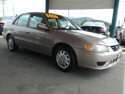 2002 Toyota Corolla for sale at Low Auto Sales in Sedro Woolley WA