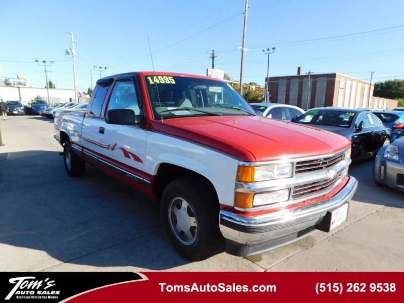 1997 Chevrolet C/K 1500 Series for sale in Des Moines, IA