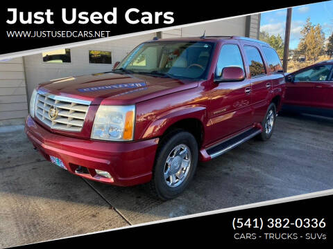 2004 Cadillac Escalade for sale at Just Used Cars in Bend OR
