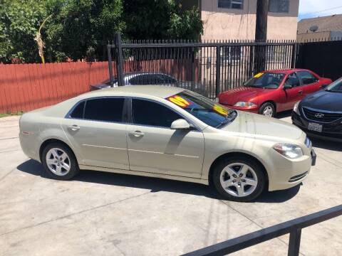 2009 Chevrolet Malibu for sale at The Lot Auto Sales in Long Beach CA