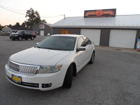 2008 Lincoln MKZ for sale at Grand Prize Cars in Cedar Lake IN