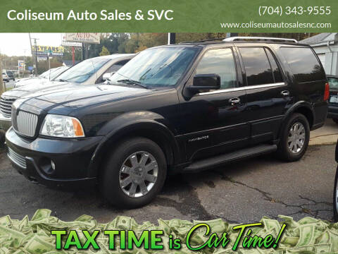 2004 Lincoln Navigator for sale at Coliseum Auto Sales & SVC in Charlotte NC