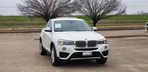 2015 BMW X4 for sale at America's Auto Financial in Houston TX