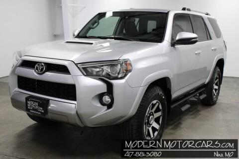 2018 Toyota 4Runner for sale at Modern Motorcars in Nixa MO