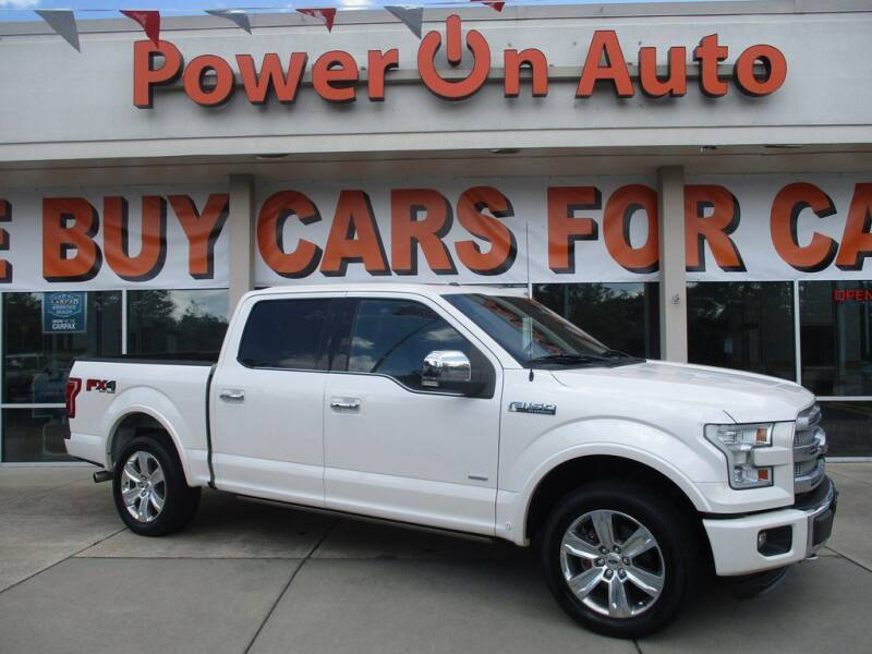 2015 Ford F-150 for sale at Power On Auto LLC in Monroe NC