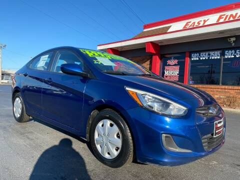 2015 Hyundai Accent for sale at Premium Motors in Louisville KY