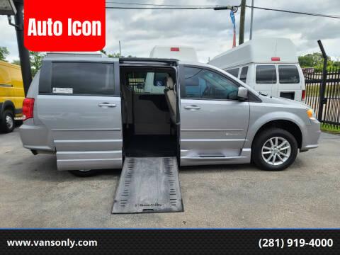 2015 Dodge Grand Caravan for sale at Auto Icon in Houston TX