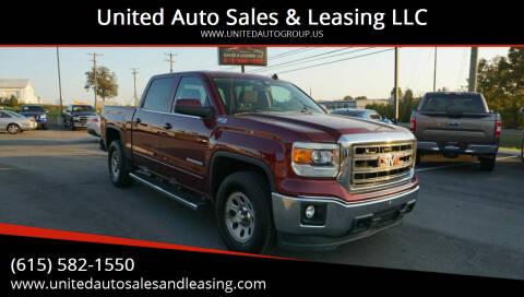 2014 GMC Sierra 1500 for sale at United Auto Sales & Leasing LLC in La Vergne TN