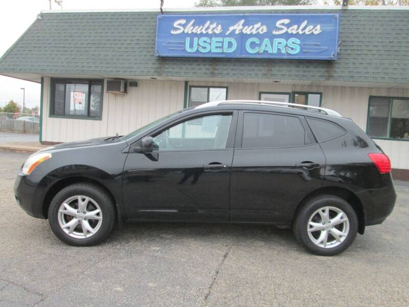 2008 Nissan Rogue for sale at SHULTS AUTO SALES INC. in Crystal Lake IL