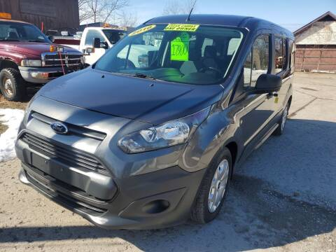2016 Ford Transit Connect Wagon for sale at Kachar's Used Cars Inc in Monroe MI