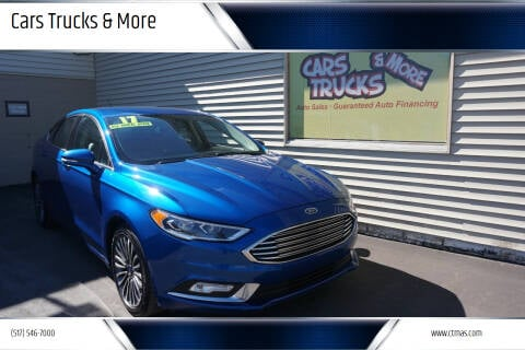 2017 Ford Fusion for sale at Cars Trucks & More in Howell MI