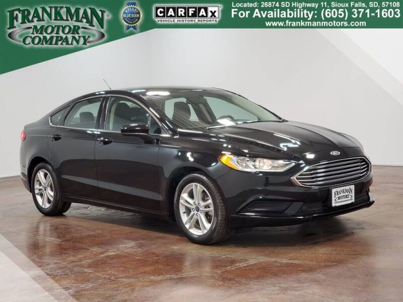 2018 Ford Fusion for sale in Sioux Falls, SD