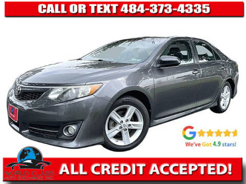 2014 Toyota Camry for sale at World Class Auto Exchange in Lansdowne PA