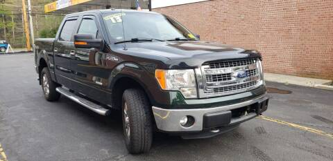 2013 Ford F-150 for sale at Exxcel Auto Sales in Ashland MA