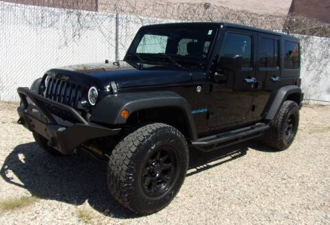 2016 Jeep Wrangler Unlimited for sale at Amazing Auto Center in Capitol Heights MD