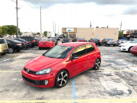 2010 Volkswagen GTI for sale at Trans Copacabana Auto Sales in Hollywood FL
