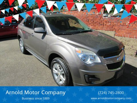 2012 Chevrolet Equinox for sale at Arnold Motor Company in Houston PA