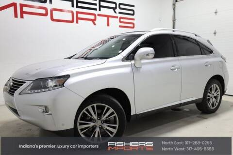 2014 Lexus RX 350 for sale at Fishers Imports in Fishers IN