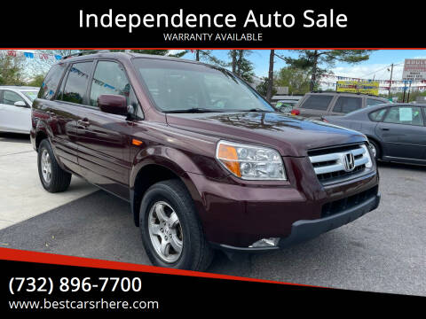 2008 Honda Pilot for sale at Independence Auto Sale in Bordentown NJ