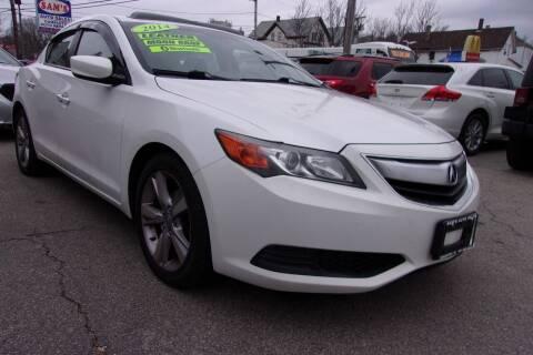 2014 Acura ILX for sale at Sam's Auto Sales in Cranston RI