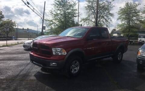 2010 Dodge Ram Pickup 1500 for sale at K B Motors in Clearfield PA