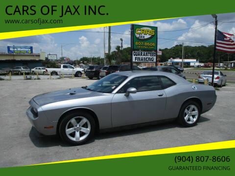 2014 Dodge Challenger for sale at CARS OF JAX INC. in Jacksonville FL