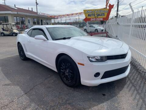 2014 Chevrolet Camaro for sale at Robert B Gibson Auto Sales INC in Albuquerque NM
