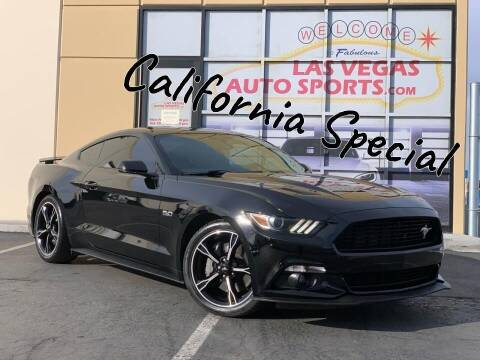2016 Ford Mustang for sale at Las Vegas Auto Sports in Las Vegas NV