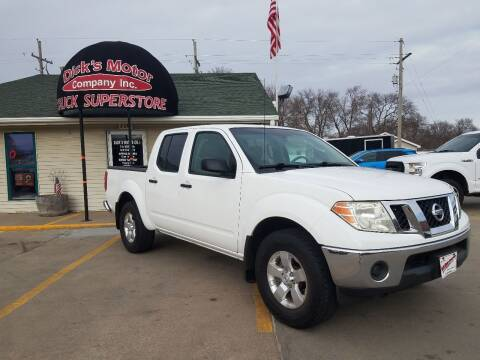 2010 Nissan Frontier for sale at DICK'S MOTOR CO INC in Grand Island NE