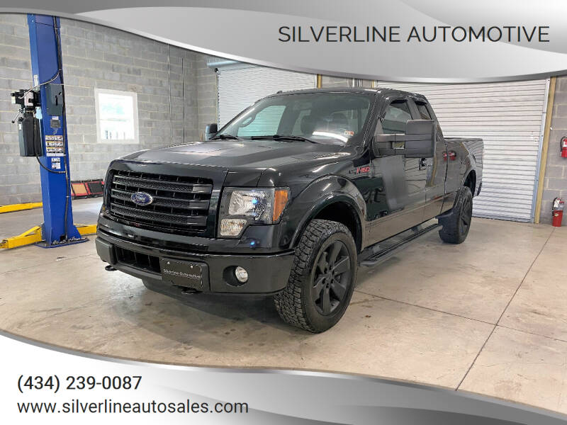 2014 Ford F-150 for sale at Silverline Automotive in Lynchburg VA