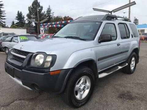 2002 Nissan Xterra for sale at Stag Motors in Portland OR