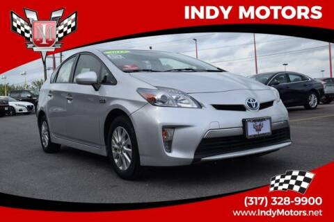 2013 Toyota Prius Plug-in Hybrid for sale at Indy Motors Inc in Indianapolis IN